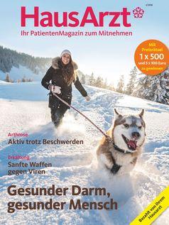 """Titelbild HausArzt-PatientenMagazin 1/2018 / Bild: """"obs/Wort & Bild Verlag - HausArzt - PatientenMagazin"""""""