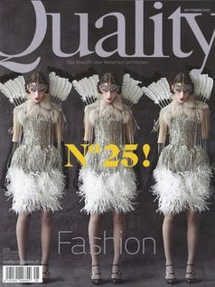"Cover ""Quality"" Magazin"