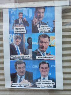 Viele Menschen in Deutschland und Bayern kommen sich durch die Politik auf den Arm genommen vor (Symbolbild)
