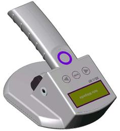 Universelles RFID-Handlesegerät für 125 kHz, 134 kHz und 13,56 MHz; optional Barcode Bild: de.wikipedia.org