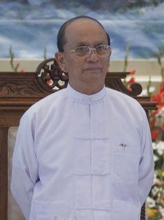 Thein Sein im Jahr 2010