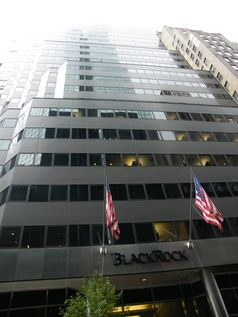 BlackRock Hauptsitz in Midtown Manhattan, New York City.