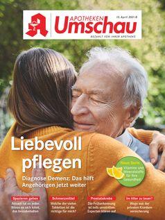 Titelbild Apotheken Umschau B April 2021 Bild: Wort & Bild Verlag Fotograf: Wort & Bild Verlag