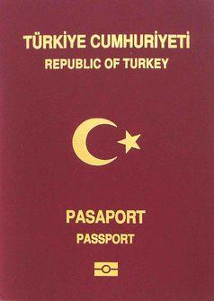 Ein türkischer Pass