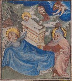 Bible historiale, Geburt Christi, Bild: Martina Sitt, Universität Kassel.