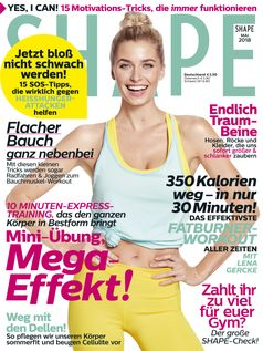 "Shape Cover Mai / Bild: ""obs/Bauer Media Group, Shape"""