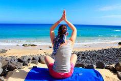 Meditation: G-Tummo erhöht Körperwärme. Bild: pixelio.de, J. Christ