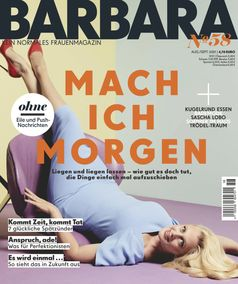 Cover BARBARA Nr. 58  Bild: Gruner+Jahr, BARBARA Fotograf: Gruner+Jahr, BARBARA