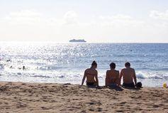 Strand und Sonne im Dezember garantiert. Bild: Wolfgang Weitlaner