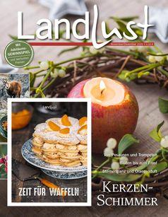 """Die LANDLUST-Ausgabe (06/2020, ab heute im Handel) Bild: """"obs/Landlust, Deutsche Medien-Manufaktur (DMM)/Cover LANDLUST 06/2020"""""""