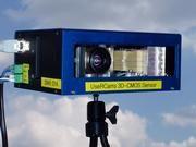 Die neuartige Kamera soll künftig den toten Winkel beim Auto überwachen: Sie ermittelt die Entfernung und drei-dimensionale Gestalt eines Objekts. © Fraunhofer IMS