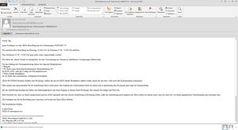 Screenshot: IKEA-E-Mail mit Trojaner