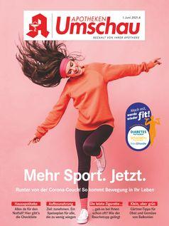 Titelbild Apotheken Umschau A Juni 2021  Bild: Wort & Bild Verlag Fotograf: Wort & Bild Verlag