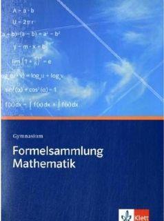 """Chemtrails auf """"Formelsammlung Mathematik Gymnasium"""" der Ernst Klett Verlag GmbH?"""