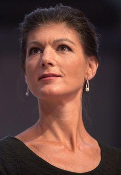 Wagenknecht auf dem Bundesparteitag 2018 in Leipzig