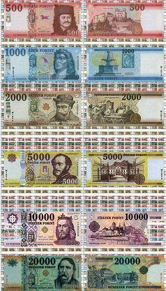 Forint, aktuelle Ausgabe seit 2014 (Symbolbild)