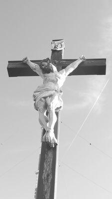 Jagdtrophäe der Katholischen Kirche: Der den sie später JeSus nannten....