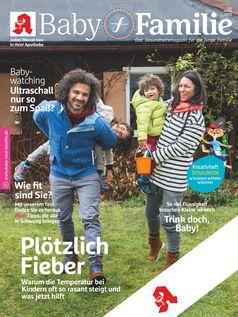 """Titelbild Baby und Familie März 2018 / Bild: """"obs/Wort & Bild Verlag - Baby und Familie"""""""