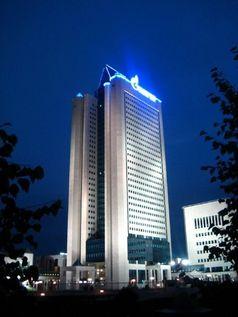 Sitz von Gazprom in Moskau