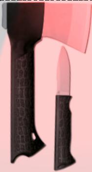 Werkzeuge: Ein Messer und eine Axt (Symbolbild)