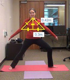 Körpervermessung: Kinect erkennt, ob die Stellung stimmt. Bild: Kyle Rector, UW