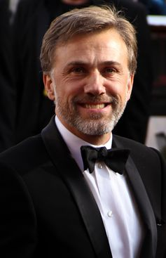 Christoph Waltz bei der Oscarverleihung 2010