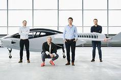 """""""Lilium Jet"""": Elektro-Lufttaxi schafft wichtige Manöver."""