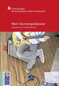 """Titelbild Broschüre Taschengeldplaner. Bild: """"obs/Geld und Haushalt - Beratungsdienst der Sparkassen-Finanzgruppe"""""""