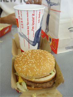 Eines der typischen Produkte von McDonald's: der Big Mac