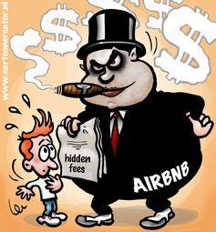 Der US-Konzern Airbnb ist vielerorts in der Dauerkritik - hier auch wegen versteckter Gebühren für Vermieter.