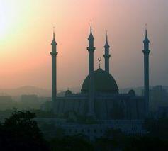 Moschee in Abuja, Nigeria.