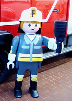 Riesen-Playmobil-Figur (1,50 m)