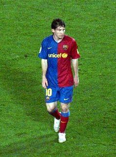 Lionel Andrés Messi Bild: Elemaki / de.wikipedia.org