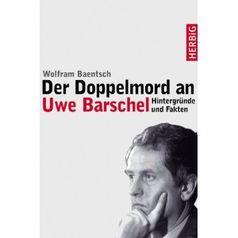 """Cover des Buches """"Der Doppelmord an Uwe Barschel """""""
