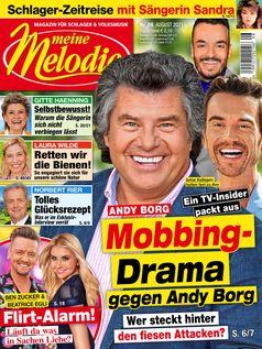 Cover Meine Melodie 08/2021.  Bild: Meine Melodie Fotograf: Meine Melodie