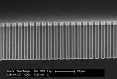 Nanodrähte: Forscher machen aus Licht nutzbaren Wasserstoff. Bild: utwente.nl
