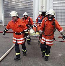Rettung von Verletzten bei einer Einsatzübung Bild: de.wikipedia.org