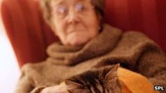 Ältere Frau: Sterberisiko steigt deutlich bei Vereinsamung. Bild: SPL