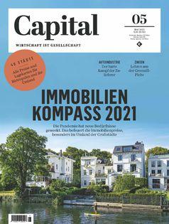 CAPITAL 5/2021 Bild: Capital, G+J Wirtschaftsmedien Fotograf: Capital, G+J Wirtschaftsmedien