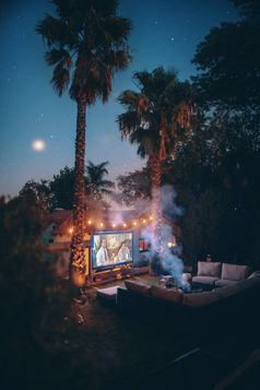 Outdoor Kino (Symbolbild)