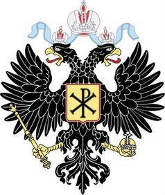 Wappen der Romanov Dynastie