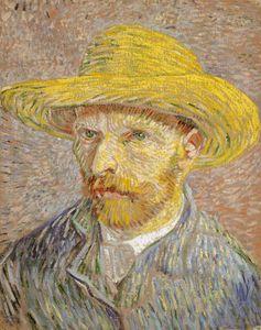 Vincent van Gogh: Selbstbildnis (1887)