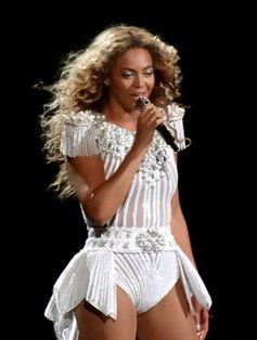 Beyonce während ihrer The Mrs. Carter Show World Tour in Montreal (2013)