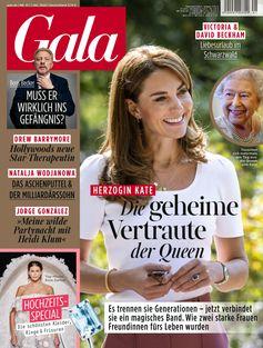 """GALA Cover 41/2020 (EVT: 1. Oktober 2020) /  Bild: """"obs/Gruner+Jahr, Gala"""""""