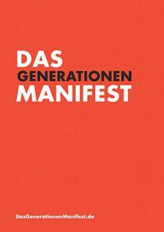 DAS GENERATIONEN-MANIFEST