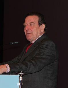 Gerhard Schröder 2013 in Wittmund