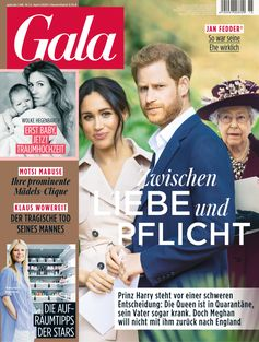 "GALA Cover 15/2020 (EVT: 2. April 2020).  Bild: ""obs/Gruner+Jahr, Gala"""