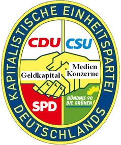 Viele Deutsche, vor allem Mitteldeutsche, empfinden das Parteiensystem, dem der SED Einheitspartei, zu ähnlich (Symbolbild)