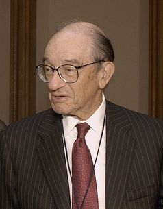 Alan Greenspan (2002). Bild: wikipedia.org