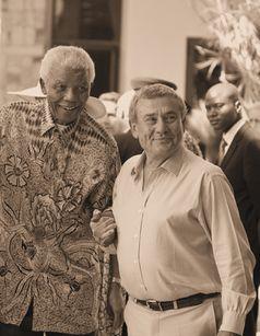 Sol Kerzner und Nelson Mandela, Archivbild